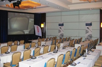 "Bosch DCN Conferencing Systems reinforce ""The Power of AV"""