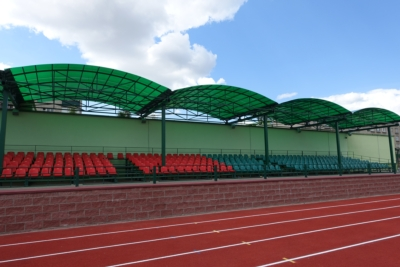 Community Provides Coverage and All Year Solutions for New Belarus Stadium