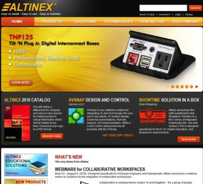 ALTINEX LAUNCHES NEW WEBSITE