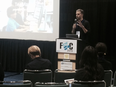 AmpliVox Lecterns Take Spotlight at 2015 Florida Educational Technology Conference