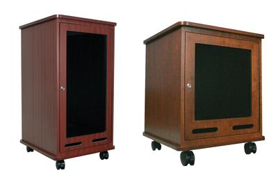 New AmpliVox Rack Cabinets Store Components with Style and Security