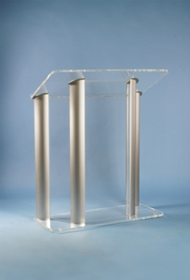 AmpliVox Acrylic Lecterns Captivate with Elegant, Customizable Style