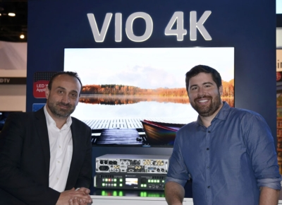 Evolve Media Group: first to order Analog Way's new VIO 4K