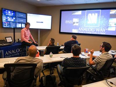 Analog Way Becomes an InfoComm International Renewal Unit Provider