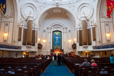 ENTASYS Helps Historic Navy Chapel Improve Coverage and Intelligibility