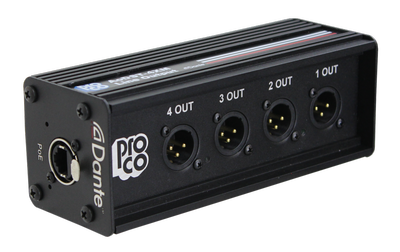 ProCo Sound to Showcase Newest Dante-Enabled Modules at InfoComm 2019