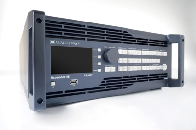 Analog Way introduces full 4K resolution on the LiveCore™ series - InfoComm 2014 – Booth #C7125 -