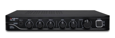 ASHLY TM-360 PUBLIC ADDRESS MIXER/AMP IDEAL FOR OFFICE MASKING SYSTEM