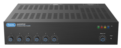 Atlas Sound Introduces AAPHD Series Amplifiers