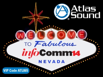 Visit Atlas Sound @ InfoComm 2014