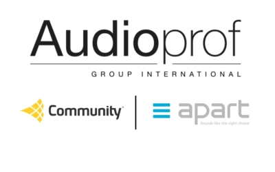 Audioprof Group International Acquires Majority Share in Community Professional Loudspeakers