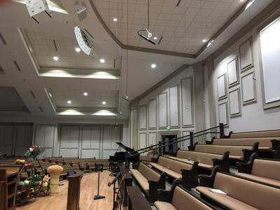 Digital Pro Sound Installs Audix Mics in the Ark of Salvation Church