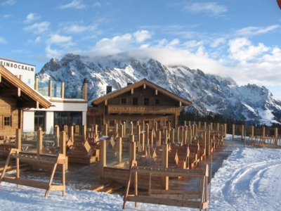 One Systems Speakers Sing Among the Clouds at popular Austrian Ski Center, Steinbock Alm