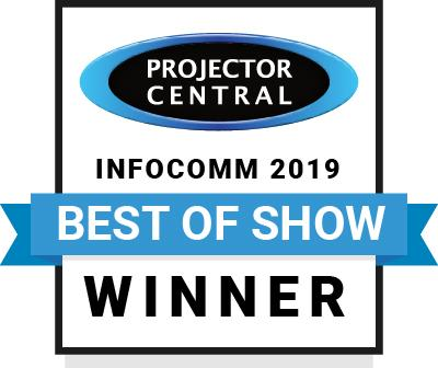 Sony Laser Projectors Honored as Best of Show During InfoComm