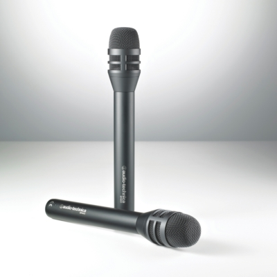 AUDIO-TECHNICA INTRODUCES ITS BP4001 AND BP4002 INTERVIEW MICROPHONES