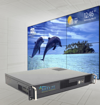 Keywest Technology Introduces 6-Channel Video Wall Player