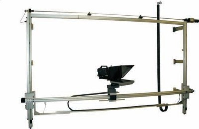Telemetrics Displays Elevating Wall Mount System For Broadcast or Virtual Studio.