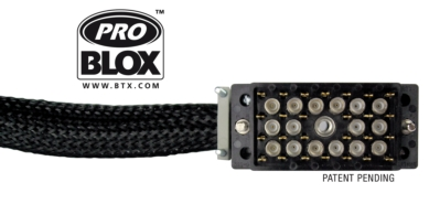 BTX Releases New Mini Hi-Res Coaxial Contacts for ProBlox™ All-In-One Multi-Connector System