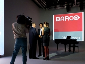 Belgian Prime Minister visits Barco in the US