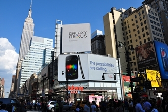 New York City's busiest intersection dazzles with Barco LiveDots LED