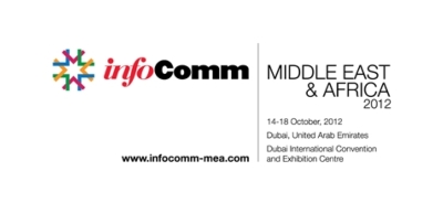 Barco exhibits at InfoComm MEA 2012