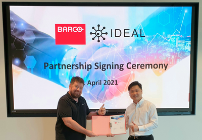 Barco partners with Ideal Systems to strengthen visualisation capabilities for broadcast in the region