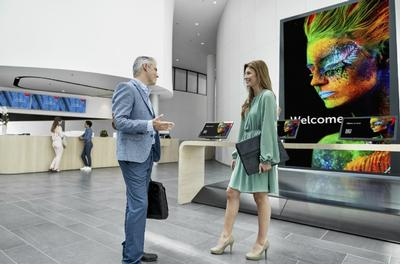 Invite, inspire or inform: which video wall best suits your corporate lobby?