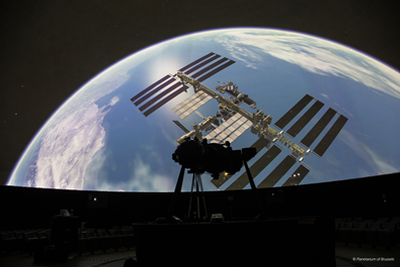 Barco projectors & RSA Cosmos's turnkey solutions provide stellar immersive experience for Belgium's leading planetarium