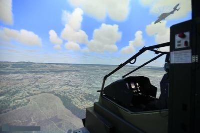 Barco provides projection system for Tiger Helicopter simulators