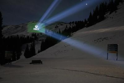 Barco projectors give XBox spectacular 3D projection mapping
