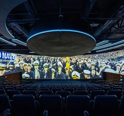 Naval Academy engages prospective students with new theater