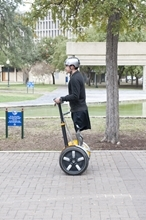 Barco Segway donation helps war vets get on the move