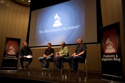 "SHURE HOSTS THREE LEGENDARY PRODUCERS FOR GRAMMY ""SOUNDTABLE"" EVENT"