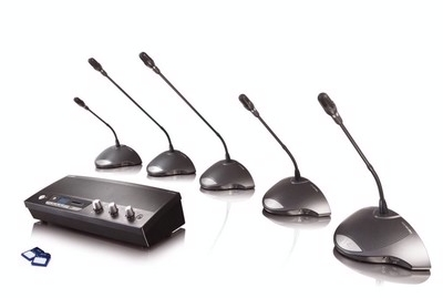 Bosch launches new CCS 900 Ultro discussion system for small- to medium-sized meeting areas at InfoComm 2010 (Booth C6302)
