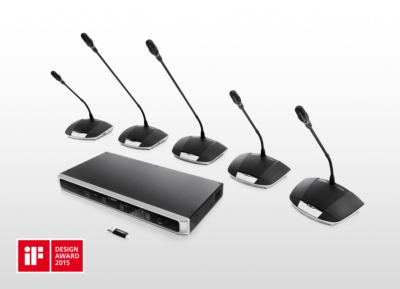 CCS 1000 D Digital Discussion System from Bosch