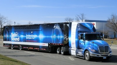 Bosch Safe & Sound Tour Truck Wins 2011 Event Design Award