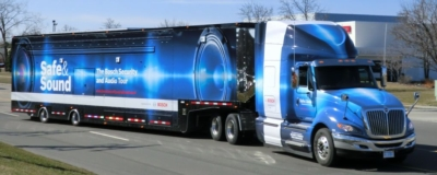 Bosch brings the AV industry's biggest exhibit truck at InfoComm 2011, booth 1201