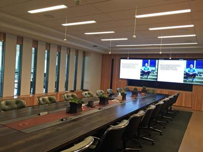 Brightline Upgrades Deliver Better Lighting for Conference Rooms, Multi-Purpose Space