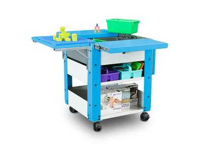 Spectrum Innovates Two Makerspace Carts: the Builder Cart & the Discover Cart
