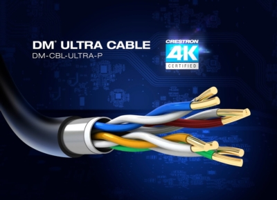 Crestron DM® Ultra Cable Now Shipping