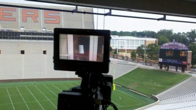 CANON HJ40x14B HIGHLY TELEPHOTO PORTABLE HD LENS PROVIDES CLEMSON UNIVERSITY WITH VERSATILE SPORTS-COVERAGE PERFORMANCE