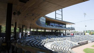 St. Paul Saints round the bases with Electro-Voice loudspeakers at CHS Stadium