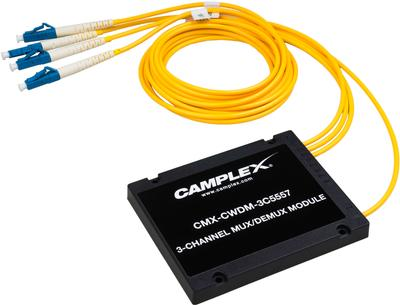 CAMPLEX PASSIVE CWDM MULTIPLEXERS INCREASE FIBER BANDWIDTH TO EXISTING FIBER INFRASTRUCTURE