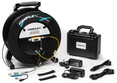 Camplex Introduces New Signal Extender & Tactical Reel System for Fast Deployment of 3G-SDI Video over Fiber