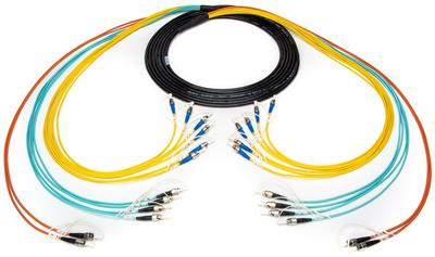 Camplex 12-Channel Mixed Mode Tactical Fiber Cable Saves Time on Site & Expense