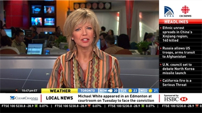 CBC Rolls out CBC News Express Broadcast Service, Powered by Audience Digital Signage Platform