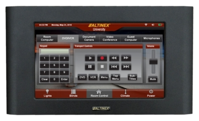 ALTINEX ANNOUNCES CP452-009 IN-WALL MULTITOUCH™ PANEL
