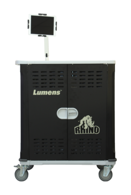 Lumens Introduces the RHINO CT-C50 Charging Cart and the RHINO CT-S30/CT-S50 Sync Carts to the Educational Technology Market