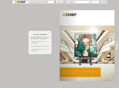 Chief's Newest Catalog Launched – Designed by You