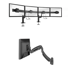 Enhanced Kontour™ Monitor Mounts on Display